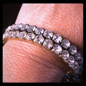 Ladies stretch bracelets